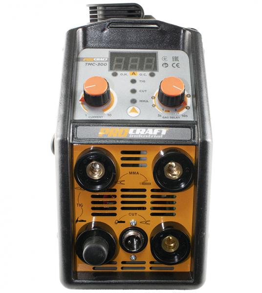 Aparat de sudura ProCraft Germany TMC300 + Masca automata | MMA; MIG-MAG; TIG-WIG; PLASMA [2]