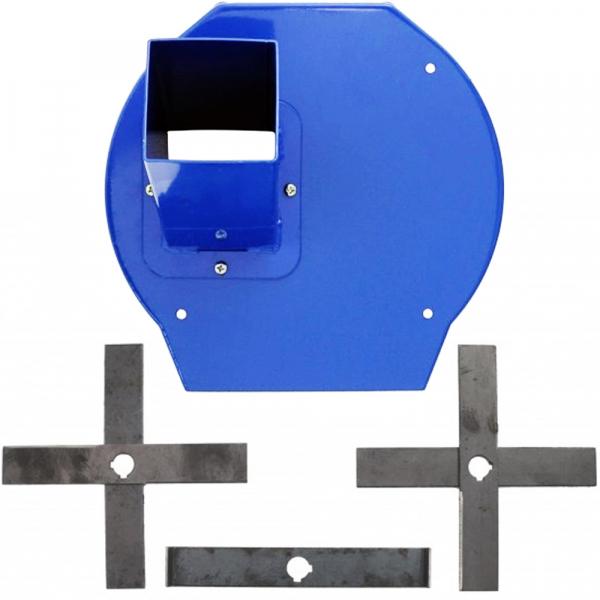 Adaptor furaje, Cutite cu capac pentru moara furaje, radacini [0]