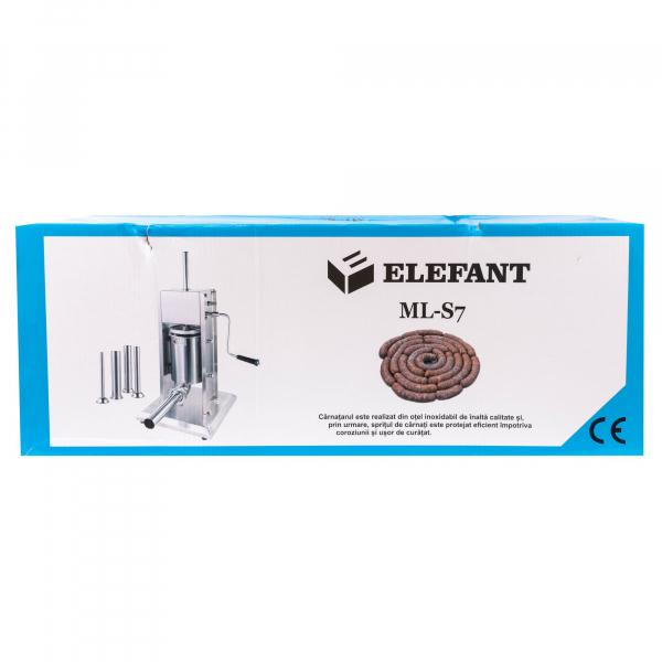 Aparat de facut carnati ELEFANT ML-S7 inox [6]