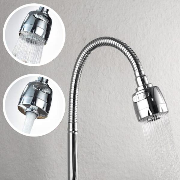 Baterie sanitara  FLEKO, pipa flexibila, ajustabila [6]