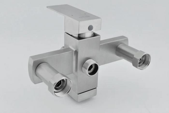 Baterie sanitara pentru dus Mixxus KUB-009-J, cu coloana telescopica , para dus [6]