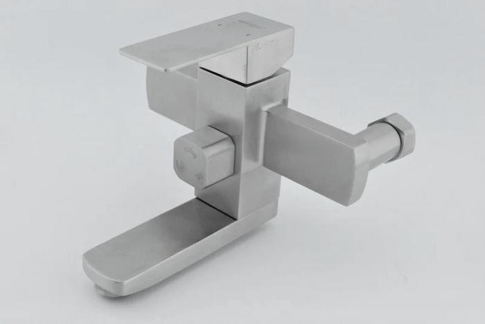 Baterie sanitara pentru dus Mixxus KUB-009-J, cu coloana telescopica , para dus [4]