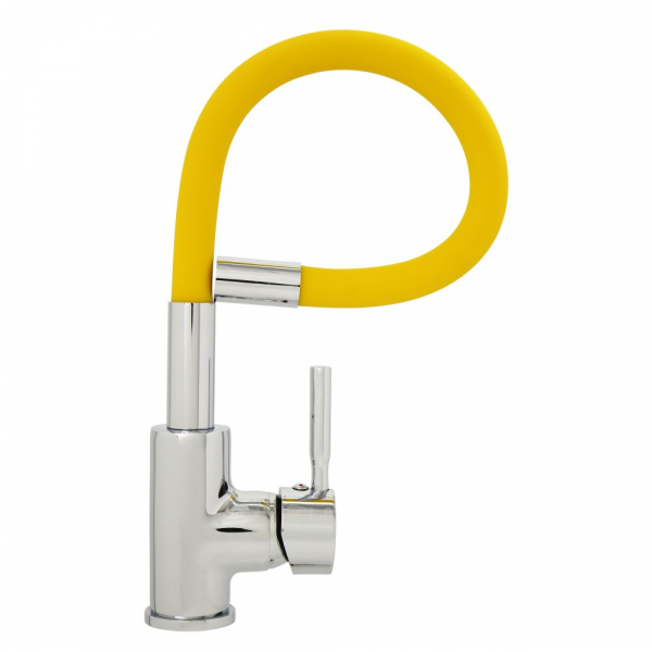 Baterie sanitara TRIGOR TR4451-XI-K Orange, cu pipa flexibila [1]