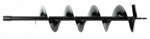 Burghiu 100x800 mm de sapat gauri in pamant pentru foreza si motoburghiuri [1]