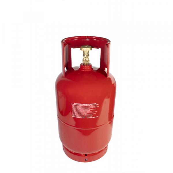 Butelie de gaz reincarcabila GPL | din metal | 12 L | 5 kg | filet 1/2 [0]