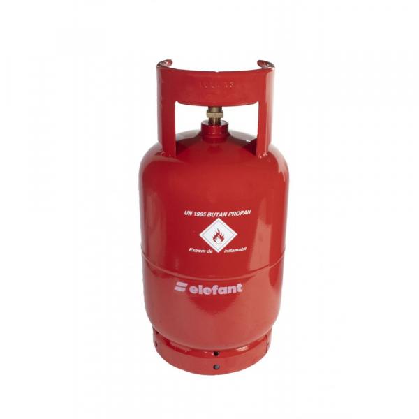 Butelie de gaz reincarcabila GPL | din metal | 12 L | 5 kg | filet 1/2 [1]