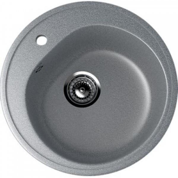 Chiuveta rotunda, gri inghis, ULGRAN U-101-309 [0]