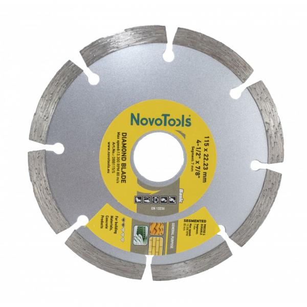 Disc diamantat NovoTools Standard Segmentat [1]