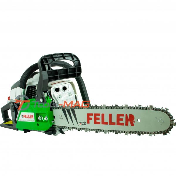 Drujba pe benzina Feller Canada ECS 400, 5.7 CP (4300 W) | 1 lama 40 cm | 1 lant 32 dinti [2]