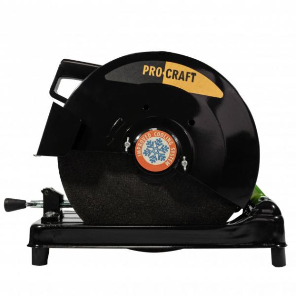 Fierastrau electric debitat metal Procraft AM3200, 3200W, 355mm [3]