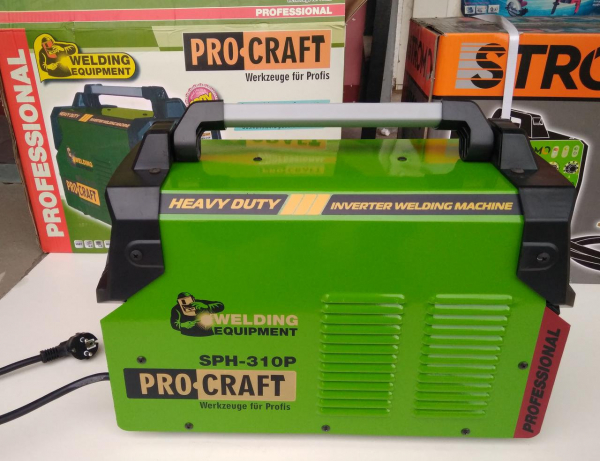 Aparat de sudura PROCRAFT SPH-310 + Masca automata | MMA; MIG-MAG [4]