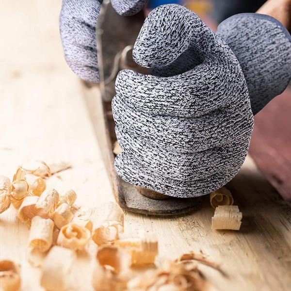 Mănuși Profesionale anti-tăiere & anti-aderență, din poliester, cu inserții de oțel [1]