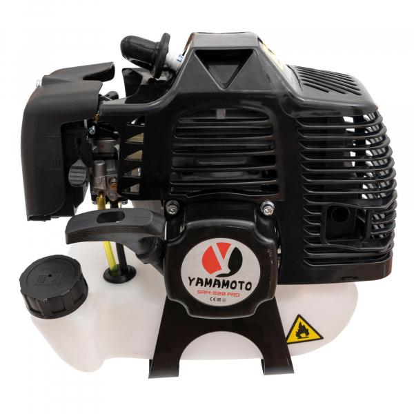 Motocoasa Yamamoto PRO, 6.7 CP, 9000 rpm , motor 2 timpi, 4 sisteme de taiere, pornire usoara Smart Pull [5]