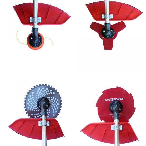 Motocoasa MOGILEV, 5.8 CP, 9000rpm, motor 2 timpi, 4 sisteme de taiere, pornire usoara Smart Pull [1]