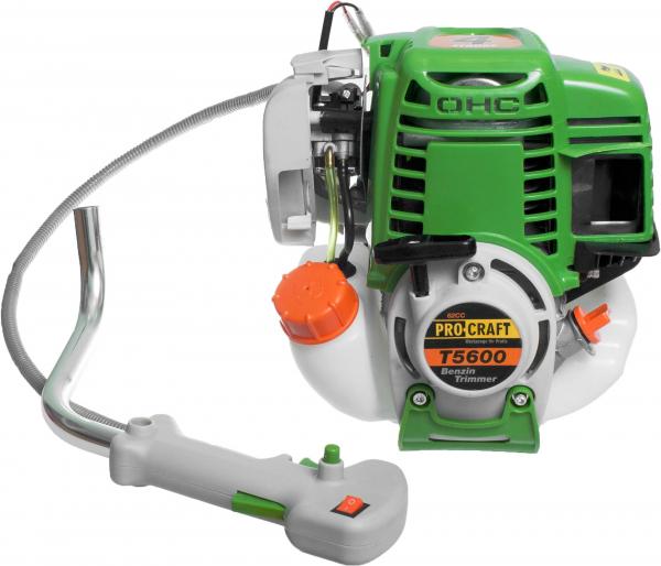 Motocoasa Procraft T5600, 7.5 CP, 9000 RPM, motor 4 timpi , 4 sisteme de taiere [2]