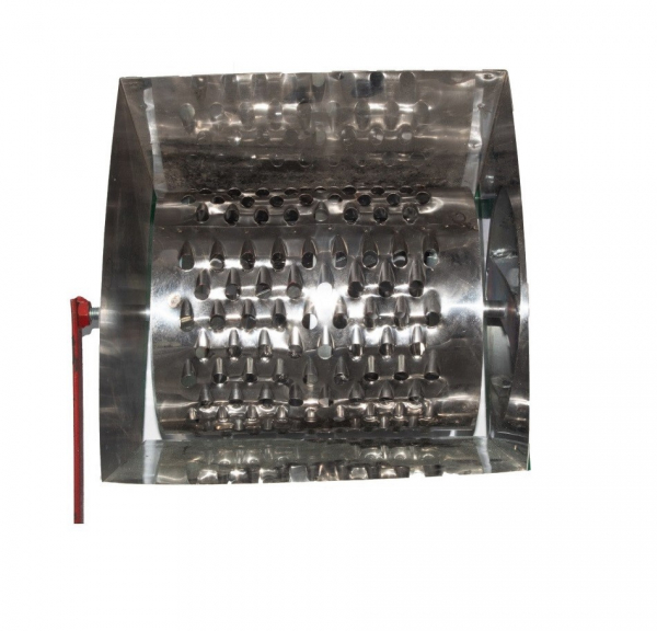 Tocator de radacini tip tambur KOZA-NOVA , cuva completa din inox [1]