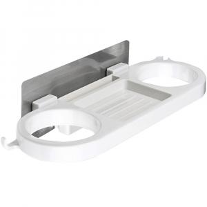 Suport auto-adeziv de perete pentru uscator de par si accesorii [0]