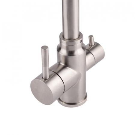 Baterie sanitara pentru chiuveta Mixxus SUS-021, pipa inalta [4]