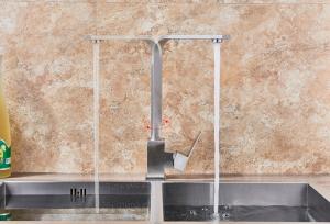 Baterie sanitara pentru chiuveta MIXXUS FIT-011, pipa inalta [4]