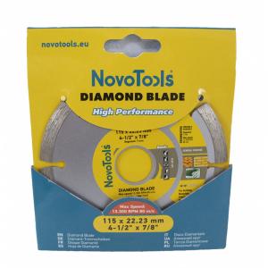 Disc diamantat NovoTools Basic Segmentat [2]