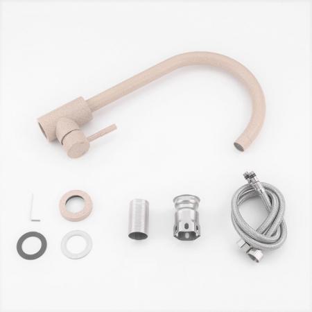 Baterie sanitara pentru chiuveta Mixxus SUS-011 BEIGE, cu picatele [2]