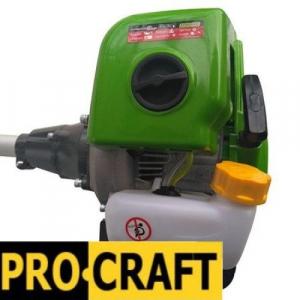 SET OFERTA! Motocoasa PROCRAFT T4350 PRO , 6.3 CP,  9000 rpm, motor 2 timpi, + accesoriu Prasitoare Cultivator, 4 sisteme de taiere [5]