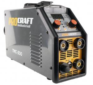 Aparat de sudura ProCraft Germany TMC300 + Masca automata | MMA; MIG-MAG; TIG-WIG; PLASMA [1]