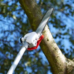 Accesoriu motocoasa cu lama / lant tip drujba - pentru taiat pomi, crengi - 28 mm 9 caneluri [4]