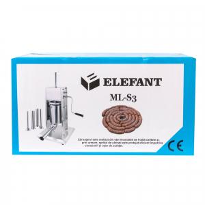 Aparat de facut carnati ELEFANT ML-S3 inox [6]