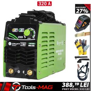 Aparat de sudura CRAFT-TEC 320A + Masca automata | MMA [0]