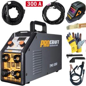 Aparat de sudura ProCraft Germany TMC300 + Masca automata | MMA; MIG-MAG; TIG-WIG; PLASMA [0]