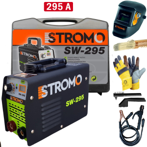 Aparat de sudura STROMO SW295 cu valiza + Masca automata | MMA [0]