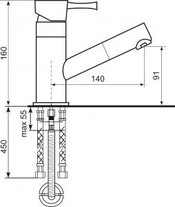 Baterie chiuveta ULGRAN 009-331 [3]