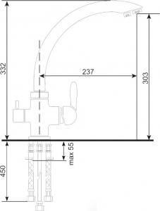 Baterie sanitara ULGRAN 017-310 [1]