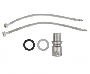 Baterie sanitara pentru chiuveta MIXXUS SUS-011 REFL. WHITE, pipa flexibila [2]