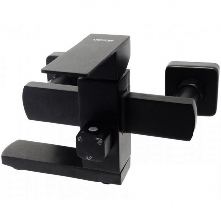 Baterie sanitara pentru dus sau cada baie Mixxus KUB-009 BLACK (EURO) [3]