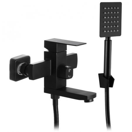 Baterie sanitara pentru dus sau cada baie Mixxus KUB-009 BLACK (EURO) [0]