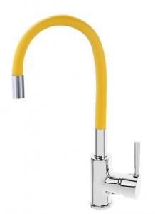 Baterie sanitara TRIGOR TR4451-XI-K Orange, cu pipa flexibila [0]