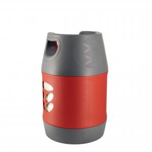 Butelie reîncărcabilă GPL (Gaz), material compozit, gri-roșu, rezistență 30 bari, capacitate 18.2 Litri [2]