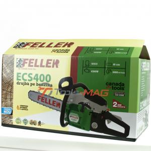 Drujba pe benzina Feller Canada ECS 400, 5.7 CP (4300 W) | 1 lama 40 cm | 1 lant 32 dinti [7]