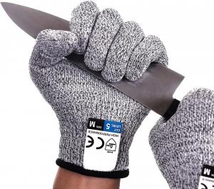 Mănuși Profesionale anti-tăiere & anti-aderență, din poliester, cu inserții de oțel [0]