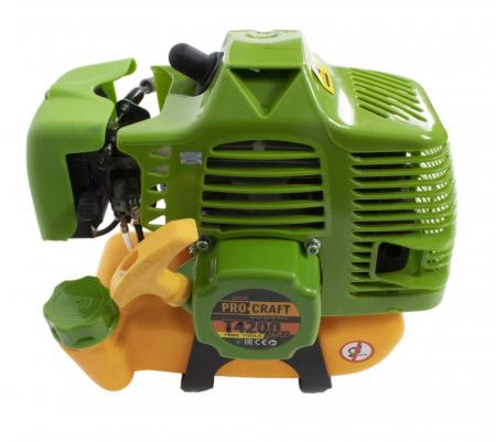 Motocoasa Procraft T4200 Pro, 6.1 CP, 9000 RPM, motor 2 timpi, 4 sisteme de taiere [5]