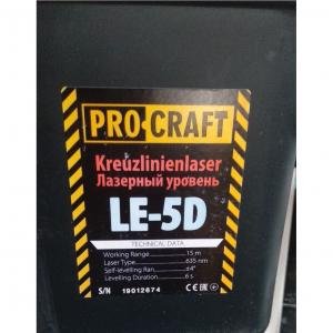 Nivela laser PROCRAFT LE-5D [4]