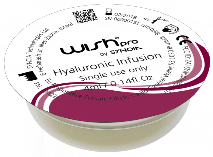 CAPSULE INFUSION LINE- HYALURONIC 0