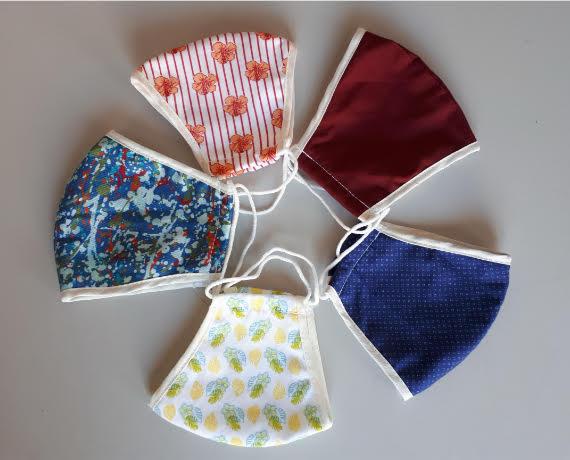 Masti textile de fata