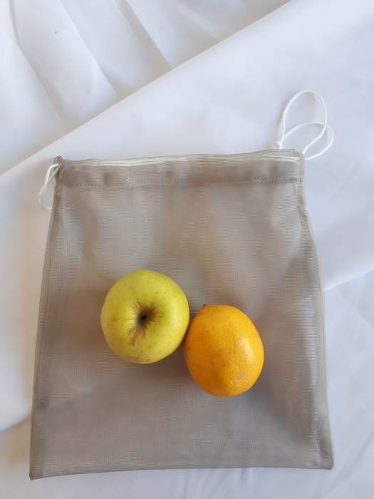 Sac poliester pentru cantarit legume si fructe, 25 x 30 cm [0]