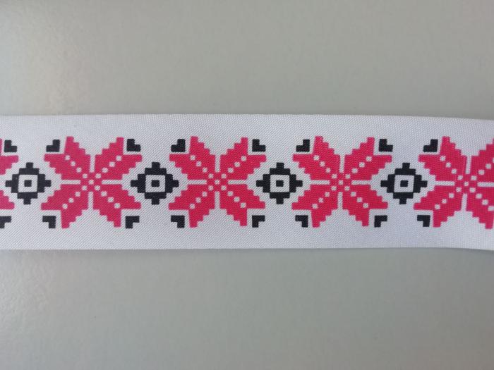 Banda imprimata cu model traditional 0