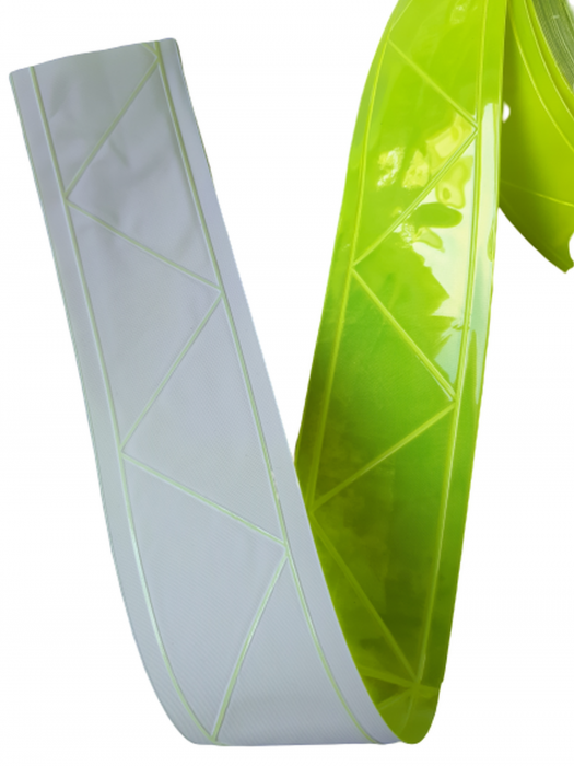 Banda PVC prismatica reflectorizanta 1