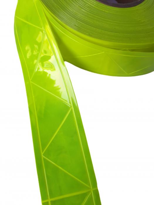 Banda PVC prismatica reflectorizanta 0