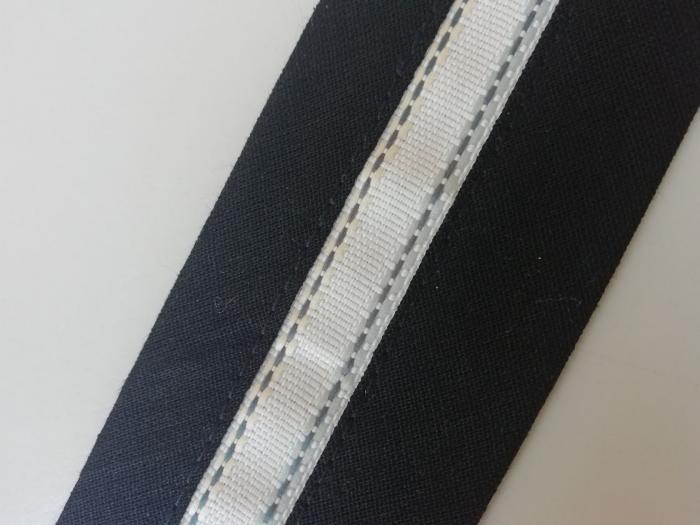 Betelie de pantaloni cu insert banda tesuta 1